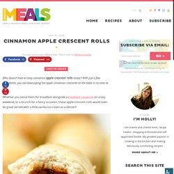 Cinnamon Apple Crescent Rolls - CentsLess Meals