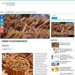 Cinnamon: The New Dopamine Booster - Healthy Living Benefits