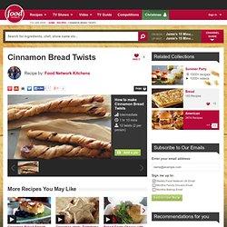 Cinnamon Bread Twists Recipe by Food Network Kitchens