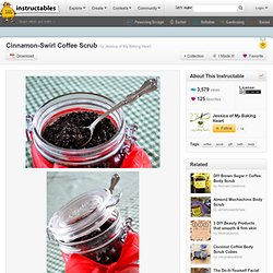 Cinnamon-Swirl Coffee Scrub