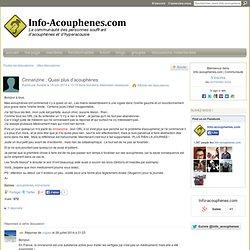 Cinnarizine : Quasi plus d'acouphènes