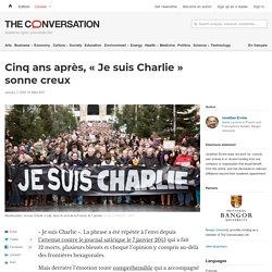 Cinqans après, «Jesuis Charlie» sonne creux