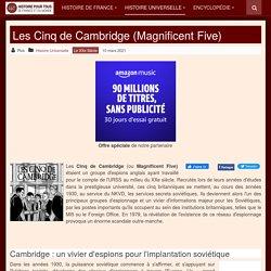 Les Cinq de Cambridge (Magnificent Five)