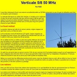 Cinq huitiemes 50 MHz