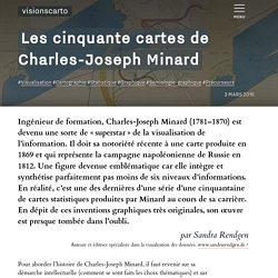 Les cinquante cartes de Charles-Joseph Minard - Sandra Rendgen
