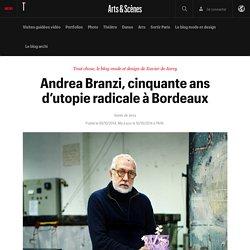 Andrea Branzi, cinquante ans d'utopie radicale à Bordeaux