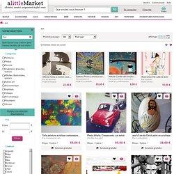Le rêveur, Toile acrylique et resine - 16173 Art disponibles - ALittleMarket