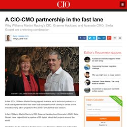 A CIO-CMO partnership in the fast lane