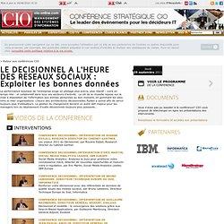Conférences sur l'ingénierie informatique et les systèmes d'information - CIO-Online - dates