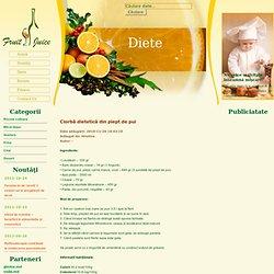 Ciorbă dietetică din piept de pui