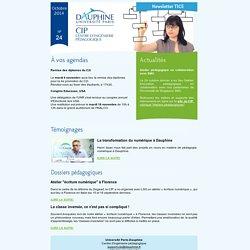 CIP-Dauphine, newsletter n° 24