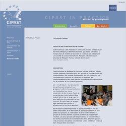 CIPAST - Méthodologie Metaplan