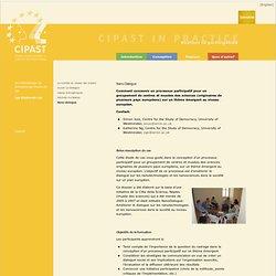 CIPAST - Nano DialogueComment concevoir un processus participatif pour un groupement de centres et musées des sciences (originai