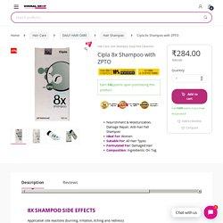 Buy Cipla 8x Shampoo with ZPTO Online
