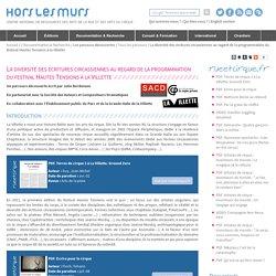 Parcours Pédagogique - Hors les Murs - Ecritures de cirques (2014)