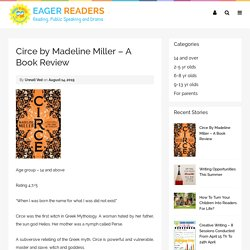 Circe by Madeline Miller - A Book Review