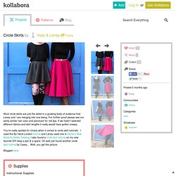 Circle Skirts by Katy & Laney