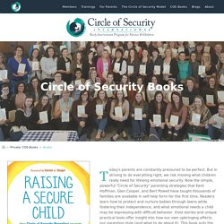 Books – Circle of Security International