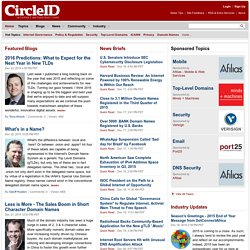 CircleID - Breaking Internet News, Opinions and Blogs