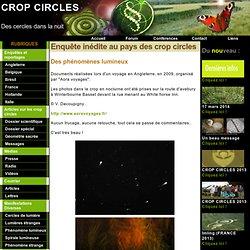 Crop circles - Des cercles dans la nuit: Des phénomènes lumineux