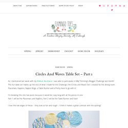 Circles and Waves Table Set - Part 1 -