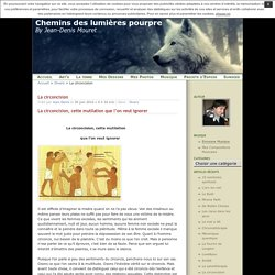 La circoncision · Chemins des lumières pourpre