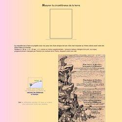 Mesurer la circonférence de la terre avec Eratostène