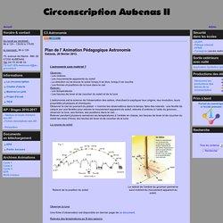 le site de la Circonscription d'Aubenas 2 - C3 Astronomie