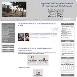 Les problèmes de lecture-compréhension en CP, CE1 et plus... - CIRCONSCRIPTION DE CASTELSARRASIN