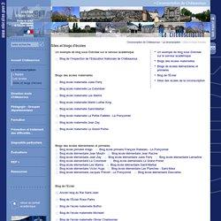 Circonscription de Châteauroux:Sites et blogs d'écoles