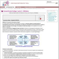 CIRCONSCRIPTION DE TOUL