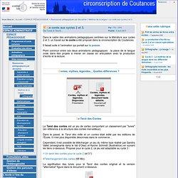 Circonscription de l'éducation nationale de Coutances - Le conte aux cycles 2 et 3.