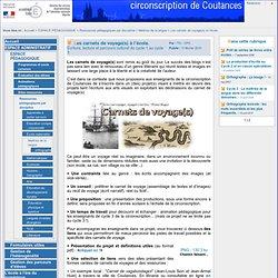 Circonscription de l'éducation nationale de Coutances - Les carnets de voyage(s) à l'école.