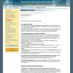 Circonscription de Saint-Brice - Inspection de l'éducation nationale du Val-d'Oise - Histoire au cycle 3