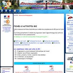 Site de la Circonscription de Saint-Joseph - Les T.I.C. - Ressources Pédagogiques