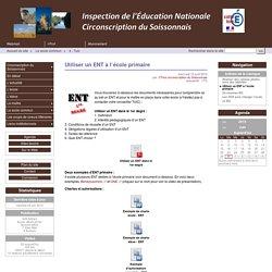 Utiliser un ENT à l'école primaire - Circonscription du Soissonnais