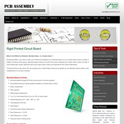 Comprehensive Rigid PCB Manufacturer - 4PCB Assembly
