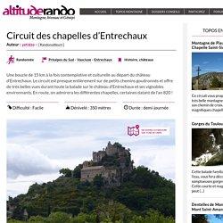 Circuit des chapelles d'Entrechaux