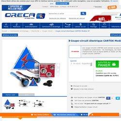 Coupe-circuit électrique CARTEK Modèle GT - Achat/Vente sur Oreca-Store.com