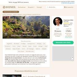 Circuit Indonésie : Java Bali et îles Gili