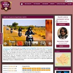 Circuit moto au Rajasthan