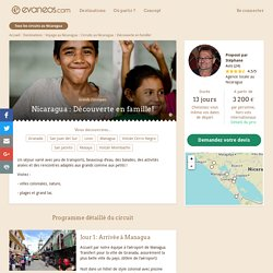 Circuit Nicaragua : Découverte en famille!