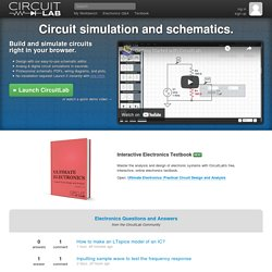 CircuitLab | sketch, simulate, and share your circuits