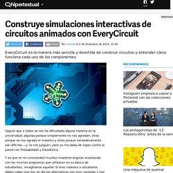 Crea circuitos animados con EveryCircuit