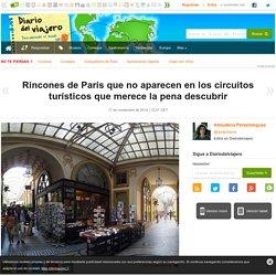 Rincones de París que no aparecen en los circuitos turísticos que merece la pena descubrir