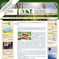 UNIVERSITE DE BORDEAUX 27/03/12 Circuits Courts : L'accompagnement de la DRAAF