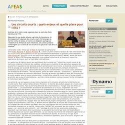 APEAS 13/04/11 Les circuits courts : quels enjeux et quelle place pour l'ESS ?