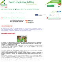 CHAMBRE D AGRICULTURE DU RHONE - OCT 2014 - CIRCUITS COURTS - Le choix du multi-circuits