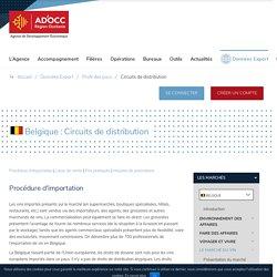 Circuits de distribution - Belgique