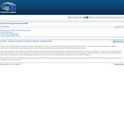 PARLEMENT EUROPEEN - Réponse à question E-003819-16 Circuits courts dans le domaine agricole: l'exemple d'Albi